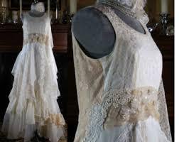 gypsy wedding dress etsy