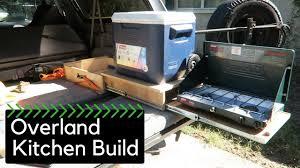 overland jeep kitchen ford bronco overland kitchen build ae 10 youtube