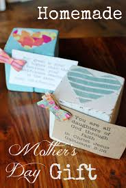 Mother S Day Gifts Homemade by Homemade Gift Wood Block Photo Or Verse Holder Hunt And Host