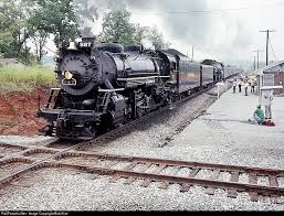 a typical ohio u0026 mississippi steam locomotive which pulled the