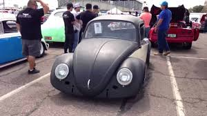 black volkswagen bug 1965 volkswagen beetle turbo matte black and white kafer bug