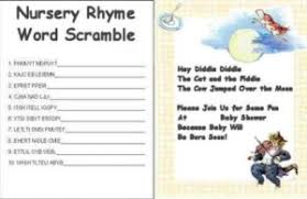 nursery rhyme baby shower baby shower decoration ideas get collection and picture of