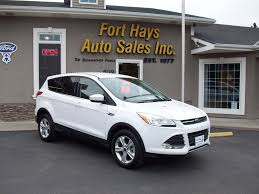 Ford Escape Ecoboost - 2014 ford escape se ecoboost fort hays auto sales fort hays