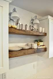 Shelf Ideas For Kitchen 27 Best Diy Floating Shelf Ideas And Designs For 2017