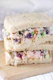 thanksgiving turkey sandwich recipe turkey salad with cranberries and walnuts bowl of delicious