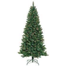 pre lit artificial christmas trees shop jeco 7 ft pre lit artificial christmas tree with 350