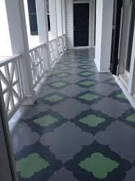 Decorative Floor Painting Ideas Porch Floor Paint Painted Front Decorating Ideas Pinterest 19