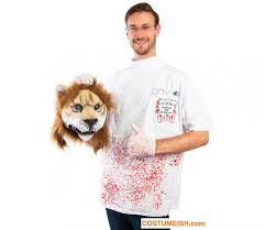 Halloween Lion Costume Cecil Lion Killer Halloween Costume