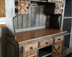 Country Hutch Furniture Farmhouse Hutch Etsy