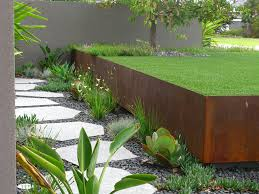 detroit retaining wall ideas landscape transitional with garden