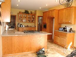 painted kitchen cabinets with oak trim classic cupboards paint 24 updated oak cabinets with