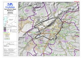 Maps Syria by Syria District Maps Damascus District In Damascus Governorate