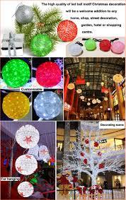 outdoor hanging light balls sacharoff decoration