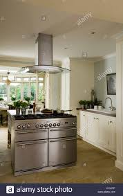 kitchen island extractor fans modern white kitchen with stainless steel island hob and extractor