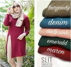slit sweater jual slit sweater ramailancar