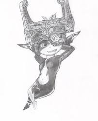 midna twilight princess pencil drawing by shiny ace on deviantart
