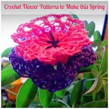 Free Pattern For Crochet Flower - spring is here 10 free crochet flower patterns u0026 butterfly