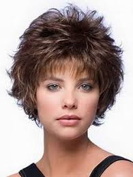 wigs medium length feathered hairstyles 2015 curly shag with wispy bangs curly shag haircuts for short medium