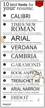 contemporary resume fonts styles best fonts for your resume fonts resume ideas and resume cover