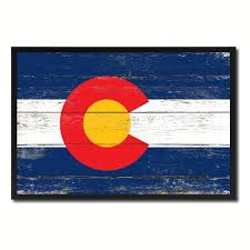 colorado state home decor man cave wall art collectible decoration