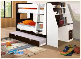Bunk Bed With Open Bottom Miracle Single Bunk Bed With Desk California Beds Trundle And
