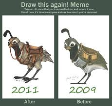 Ski Meme - before and after meme quail by ski machine on deviantart
