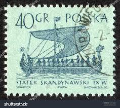 poland circa 1963 postage stamp printed stock photo 118918504