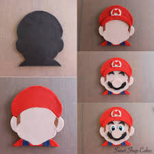 super mario fondant tutorial my cake tutorials pinterest