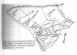 map of lancaster county pa pennsylvania map page for web site