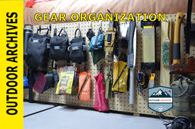 gear storage and organization youtube