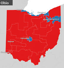 Map Dayton Ohio by Gerrymandering On Steroids U0027 How Republicans Stacked The Nation U0027s