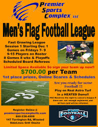 How To Start A Youth Flag Football League Premier Sports Complex Llc News