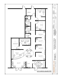 chiropractic office floor plan multi doctor semi open adjusting
