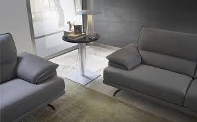 contemporary sofa contemporary sofa leather 3 seater gray kris 1056