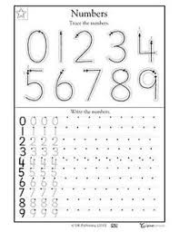 number counting worksheets kindergarten worksheets pinterest
