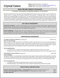 Managers Resume Sample project management resume example