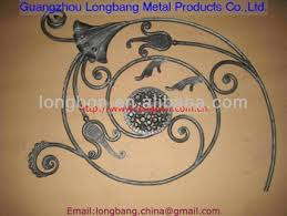 forged ornamental iron parts wrought iron view ornamental