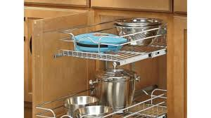 kitchen cabinet slide outs appealing kitchen cabinet pull outs out shelves custom shelfgenie