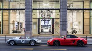 porsche showroom porsche opens u201cfascination sports cars u201d brand exhibit