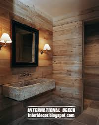 bathroom wall designs this is best 15 wooden bathroom decorating ideas and designs photos