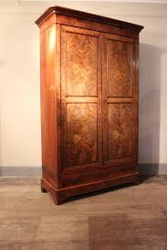 armoire bureau discount c19th mahogany louis philippe lawyers bookcase cupboard