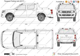 peugeot pickup the blueprints com vector drawing peugeot pickup 4x4