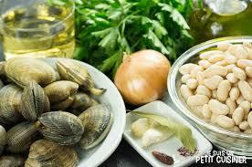 comment cuisiner les palourdes recette de haricots blancs aux palourdes judías blancas con