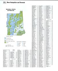 Towns In Usa by Topographic Map New Hampshirefree Maps Of North America