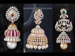 buttalu earrings gold buttalu designs antique jhumkas designs indian gold