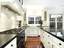 ideas for a galley kitchen galley kitchen design ideas photos incorporating a breakfast area