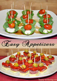 easy appetizers easy appetizers caprese and antipasto skewers happy mothering