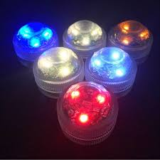 underwater wireless remote colorful led light multi color