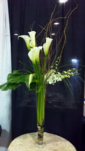 calla orchid tall centerpiece scentsational florals