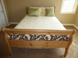 Queen Size Sleigh Bed Frame Norcal Online Estate Auctions U0026 Estate Sales Lot 46 Solid